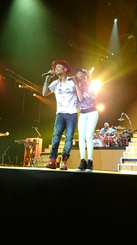 Pharrell and The Baes - The Dear G  I  R  L Tour - Sportpaleis - Anvers - 24 septembre 2014