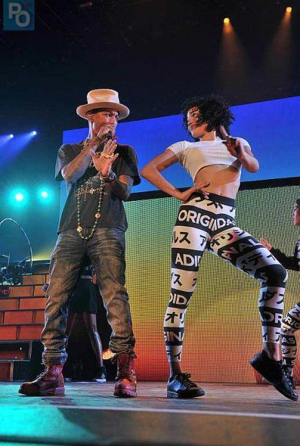 Pharrell and The Baes - The Dear G  I  R  L Tour - Zénith - Nantes - 7 octobre 2014