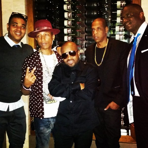 Pharrell - Anniversaire de Jon Platt - Beverly Hills - 9 novembre 2014