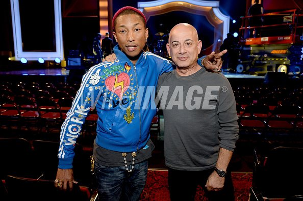 Pharrell & The Baes - A Very GRAMMY Christmas (Répétitions) - Los Angeles - 17 novembre 2014