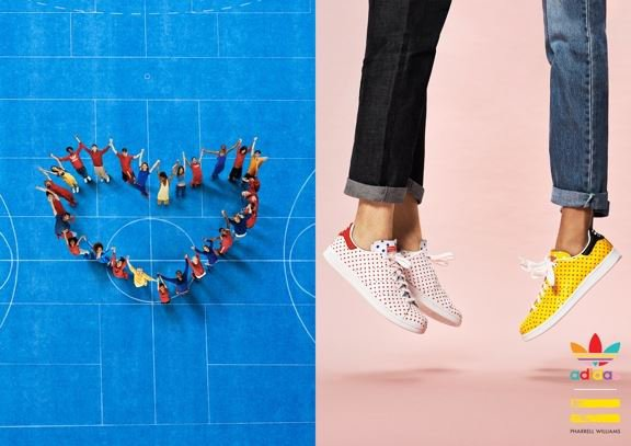 Adidas = Pharrell Williams - Polka Dot Pack (1er décembre)