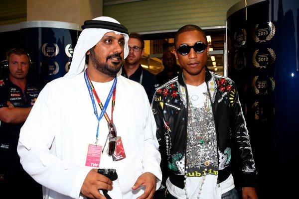 Pharrell - Grand Prix F1 Abu Dhabi - 22 novembre 2014
