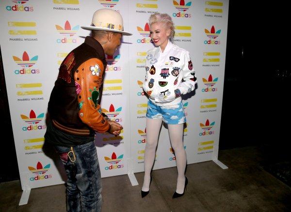Pharrell - Dîner à l'occasion de la collaboration Adidas x Pharrell - Los Angeles - 3 décembre 2014