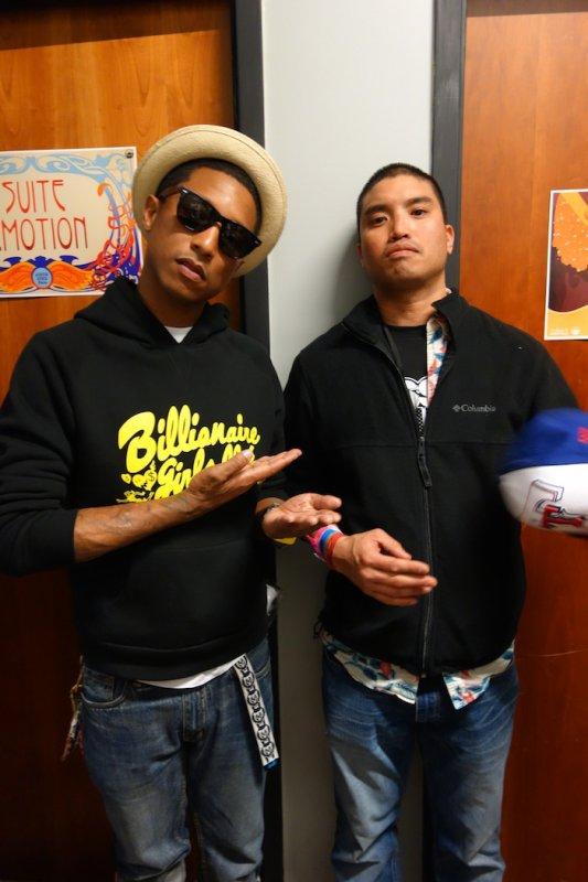 Pharrell & Chad réunis pour la BO du nouveau film Bob L'éponge?