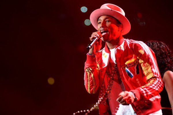 Pharrell - FLZ's Jingle Ball Show - Tampa, FL - 22 décembre 2014