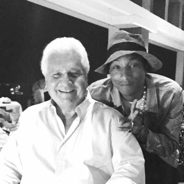 Pharrell avec... - Anguilla - Janvier 2015