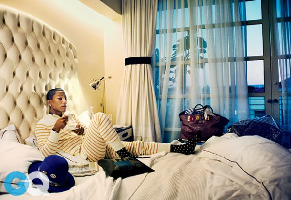 Pharrell Williams: The Man Who Never Sleeps - GQ Magazine - Février 2015