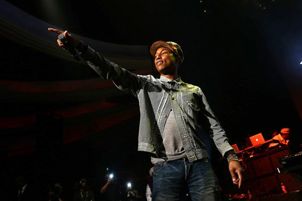 Pharrell - Levi's® x Snoop Dogg + Friends Pre-Grammy Party - Hollywood - 5 février 2015