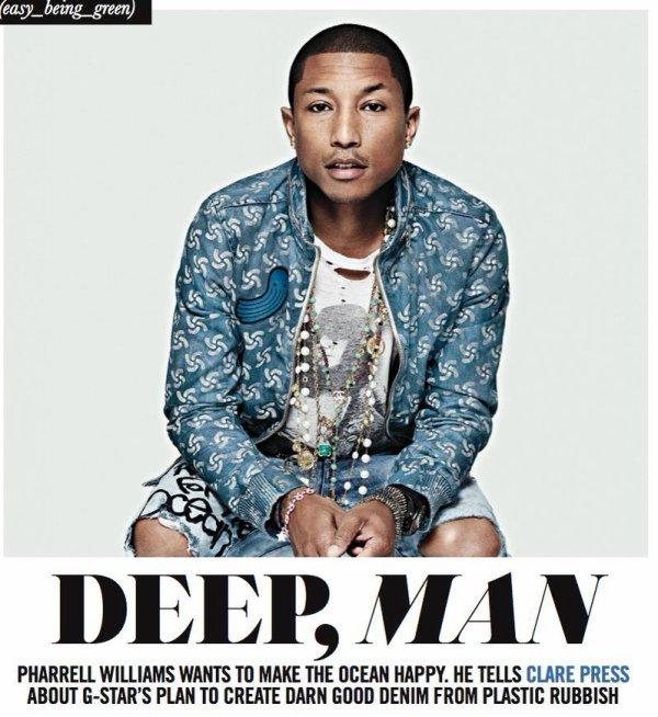 Pharrell - Sunday Style Magazine