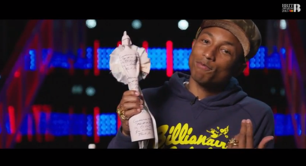 Pharrell - BRIT Awards
