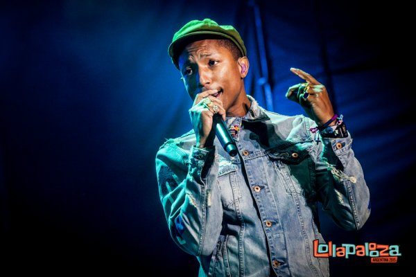 Pharrell & The Baes - Lollapalooza Argentina - Buenos Aires - 22 mars 2015