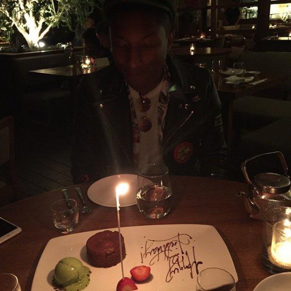 Pharrell - Malibu - 5 avril 2015