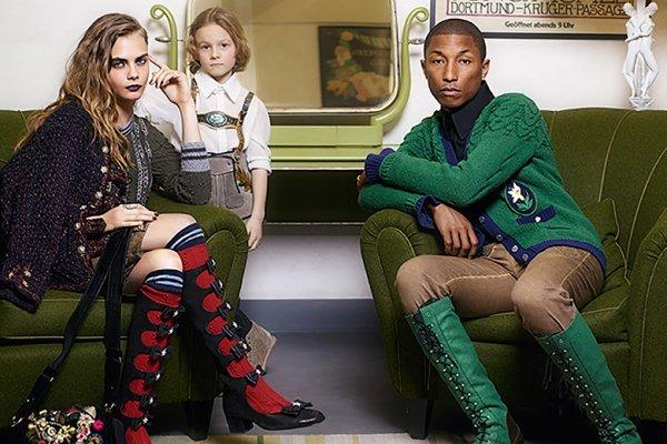 """Chanel's 2015 """"Paris-Salzburg"""" campaign"""