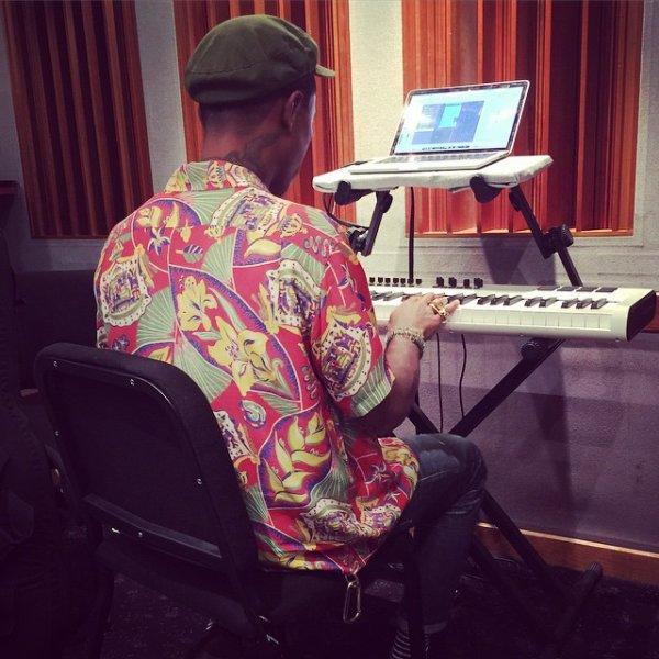 En studio - mai 2015