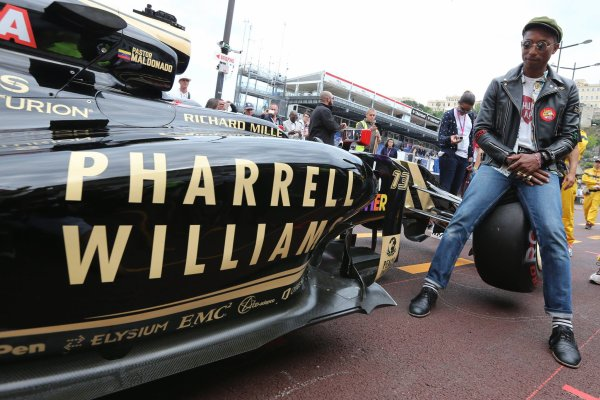 Pharrell - Grand Prix de Monaco - 24 mai 2015