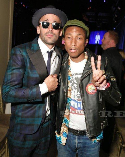 Pharrell - The Gordon Parks Foundation Awards Dinner and Auction - NYC - 2 juin 2015