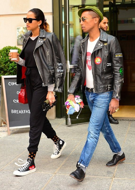 Pharrell & Helen - New York City - 3 juin 2015