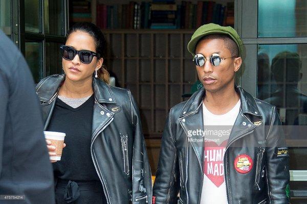 Pharrell & Helen - New York City - 3 juin 2015