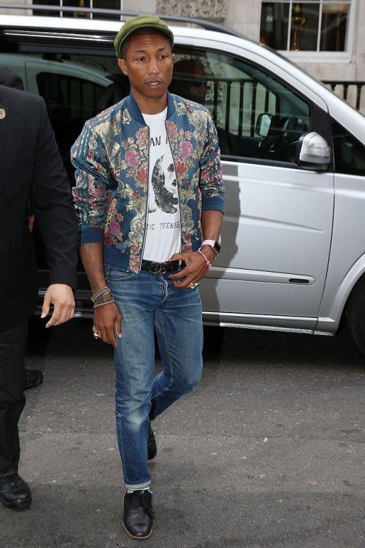 Pharrell - Londres - 16 juin 2015