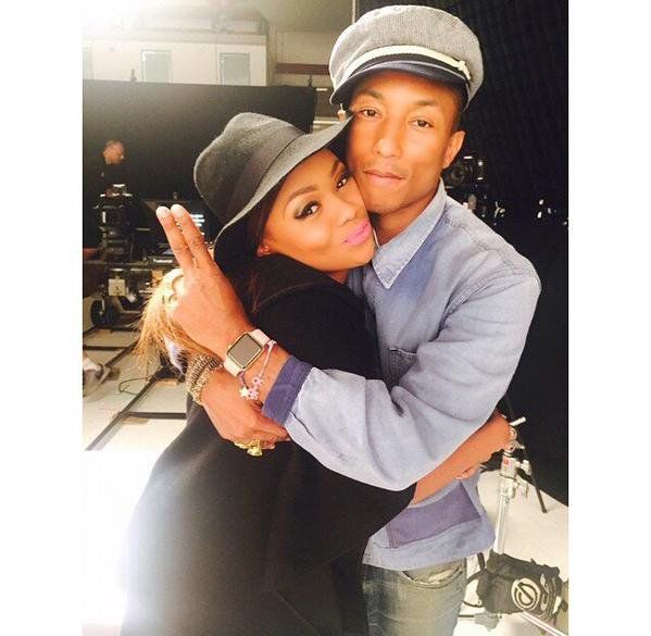 Pharrell - Londres - 17 et 18 juin 2015