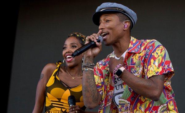 Pharrell & The Baes - Dear G  I  R  L Tour 2.0 - Ruisrock Festival - Finlande - 4 juillet 2015