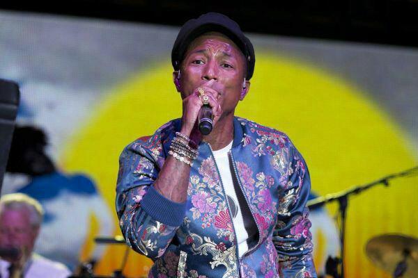 Pharrell - FOLD Festival - Riverhead, NY - 4 août 2015