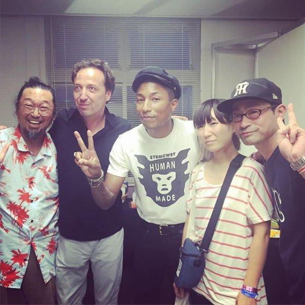 Pharrell - Summer Sonic Festival - Tokyo, Japon - 16 août 2015