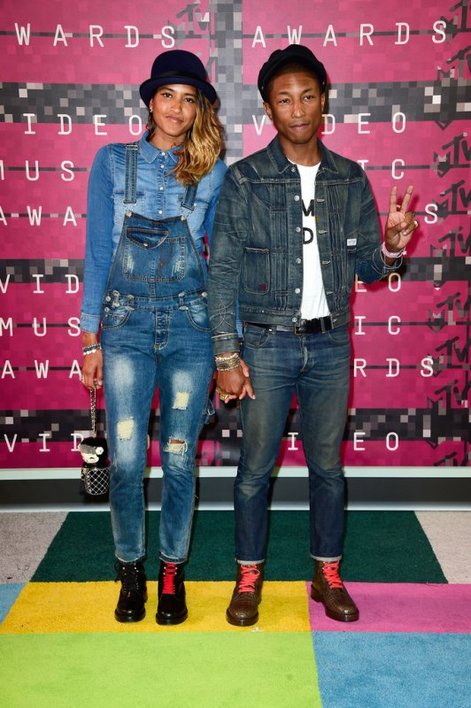 Pharrell & Helen - MTV Video Music Awards - Los Angeles - 30 août 2015