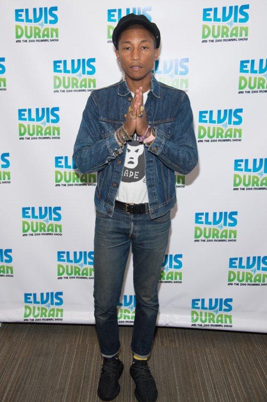 Pharrell - Elvis Duran Show - NYC - 11 septembre 2015