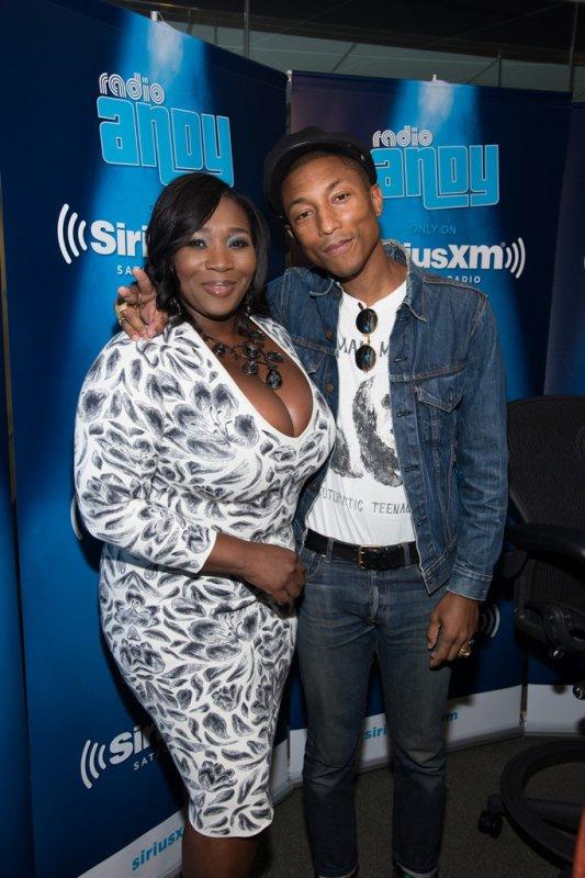 Pharrell - 'Bevelations' - SiriusXM Radio - NYC - 12 septembre 2015