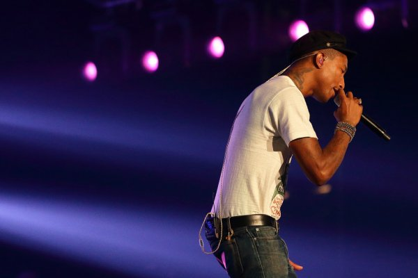 Pharrell - F1 Grand Prix de Singapour - 18 septembre 2015