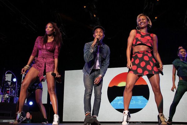 Pharrell & The Baes - Grand Arena, Grandwest - Cape Town, Afrique du Sud - 21 septembre 2015