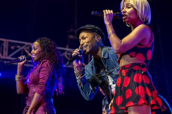 Pharrell & The Baes - The Dome - Johannesburg, Afrique du Sud - 24 septembre 2015