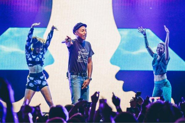 Pharrell & The Baes - Apple Music Festival - Londres, UK - 26 septembre 2015