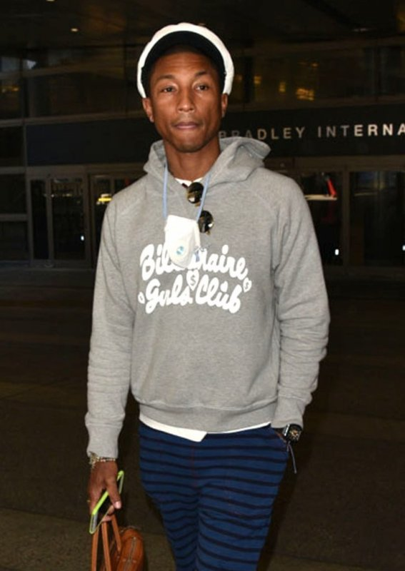 Pharrell - LAX Airport - 30 septembre 2015