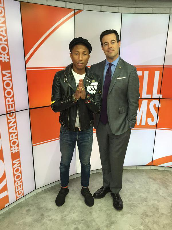 Pharrell - TODAY Show - New York City - 6 octobre 2015