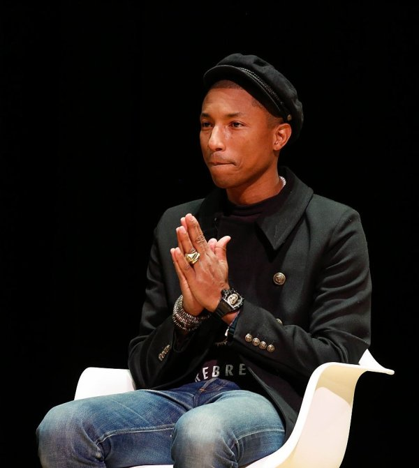 'In Conversation: Pharrell Williams' presented by NPR Music and NYU Tisch School Of The Arts - Manhattan - 26 octobre 2015
