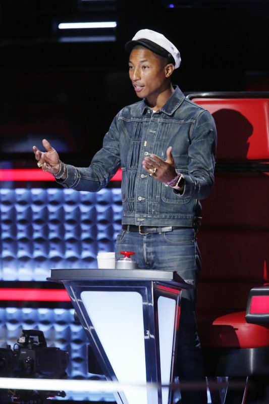 Pharrell - The Voice Saison 9 : Knockouts