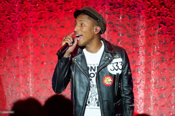 Pharrell - 2015 UCLA Neurosurgery Visionary Ball - Beverly Hills - 29 octobre 2015