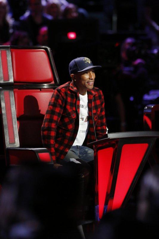 Pharrell - The Voice Saison 9 Live - Los Angeles - 16 novembre 2015