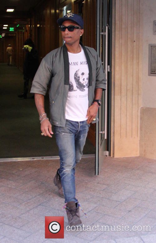 Pharrell - Beverly Hills - 18 novembre 2015