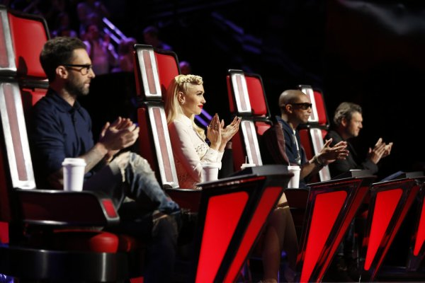 Pharrell - The Voice Saison 9 Live - Los Angeles - 23 novembre 2015