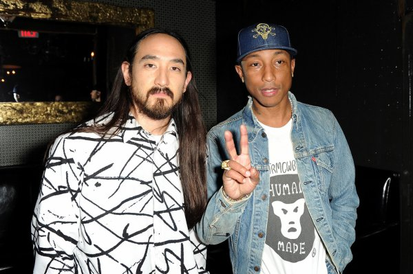 Pharrell - Watch The Duck EP Release Party - Los Angeles - 23 novembre 2015