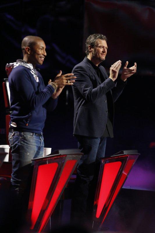 Pharrell - The Voice Saison 9 Live - Los Angeles - 30 novembre 2015