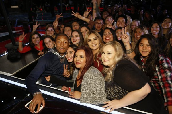 Pharrell - The Voice Saison 9 Live - Los Angeles - 30 novembre 2015