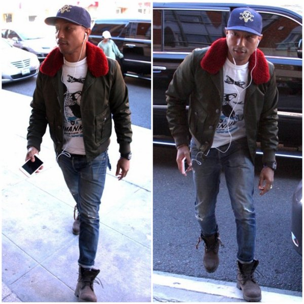 Pharrell - Beverly Hills - 2 décembre 2015