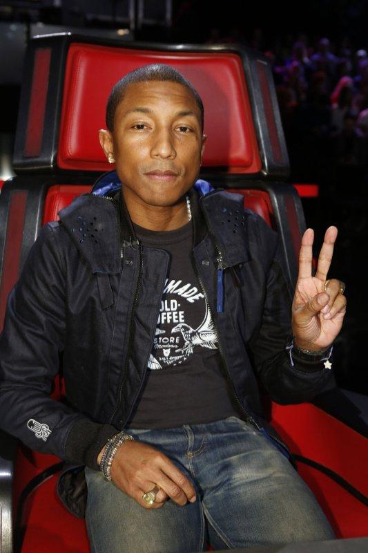Pharrell - The Voice Saison 9 Live - Los Angeles - 14 décembre 2015