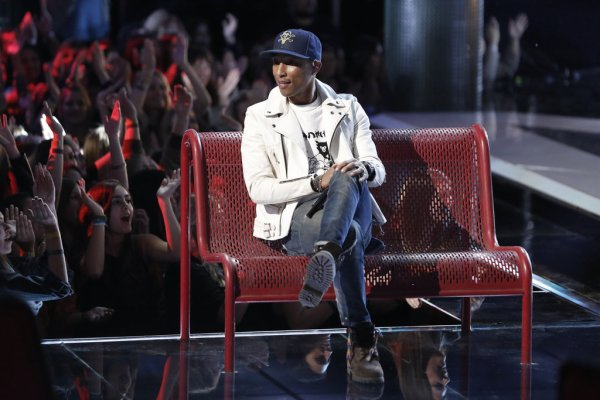 Pharrell - The Voice Saison 9 Live - Los Angeles - 15 décembre 2015