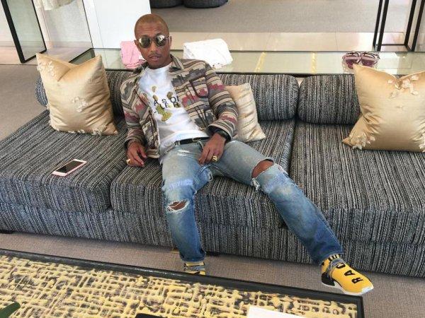 "Pharrell x Adidas ""Human Race"" - 26 janvier 2016"