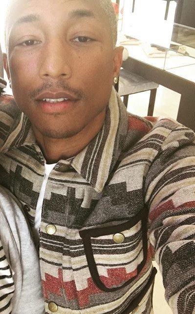 Pharrell - Chanel Store - Beverly Hills - 26 janvier